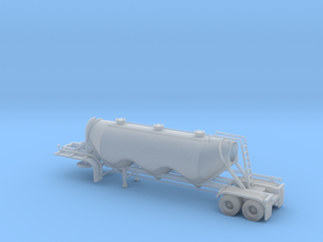 N scale 1/160 Dry Bulk 1040 Superjet Trailer 11 in Frosted Ultra Detail