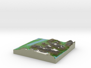 Terrafab generated model Thu Dec 26 2013 18:12:35  in Full Color Sandstone
