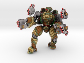 Mech suit with missile pods (12) in Full Color Sandstone