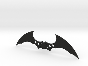 Arkham Batarang in Black Strong & Flexible