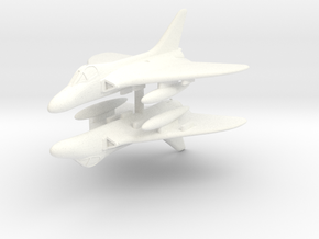 1/350 Douglas Skyray in White Strong & Flexible Polished