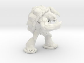 Angry Snapper in White Strong & Flexible