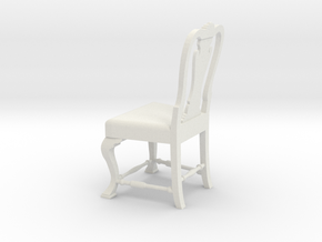 1:24 Port Chair (Not Full Size) in White Strong & Flexible