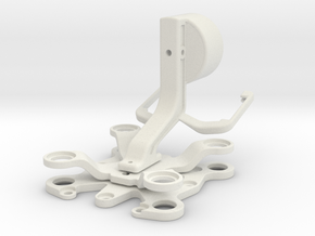 Tarot Dämpfungskit Gimbal P1P2 in White Strong & Flexible