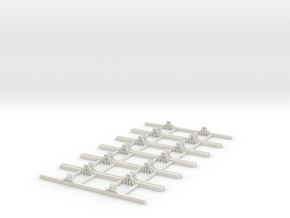Sn2 Underframe 7ft wb x6 in White Strong & Flexible