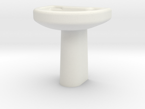 Wash Basin  in White Strong & Flexible