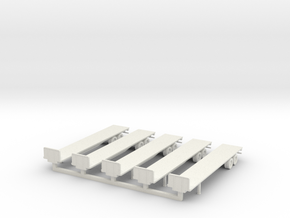 Flatbed 01 in White Strong & Flexible