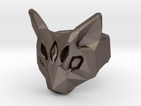 Polygonal cat ring (various sizes) in Stainless Steel