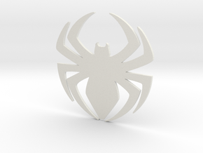 Superior Spider Symbol in White Strong & Flexible