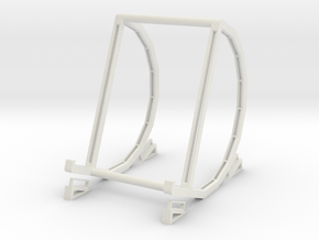 """Pad & Tablet Stand for 7"""" Devices in White Strong & Flexible"""