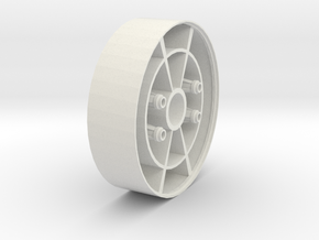 flange in White Strong & Flexible