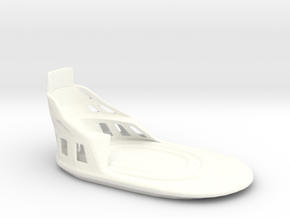 1:12 Induction bed prop in White Strong & Flexible Polished