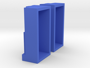 Keyboard Riser Surface Type 2 in Blue Strong & Flexible Polished