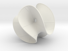 Cubic Surface KM 23 in White Strong & Flexible