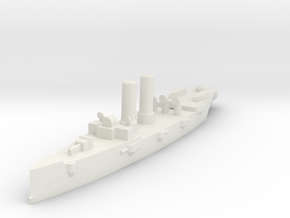 USS Montgomery (1890) 1:1200 x1 in White Strong & Flexible