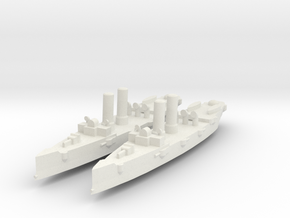 USS Montgomery (1890) 1:1800 x2 in White Strong & Flexible