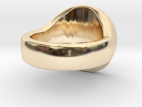 Awen Signet Ring in 14K Gold