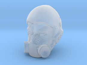 1/18 Scale Masked Head 02 in Frosted Ultra Detail