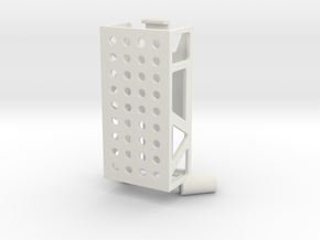 RX Mount V2 in White Strong & Flexible