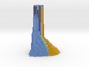 lava and ice tower in Full Color Sandstone