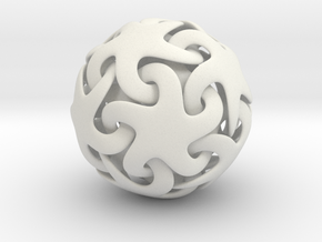 Starfish ball in White Strong & Flexible