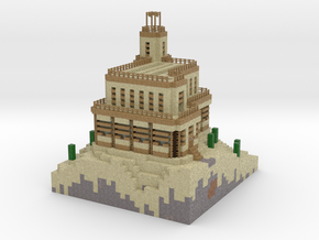 Sand Castle test in Full Color Sandstone