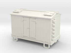 HOn30 13ft 4w reefer  in White Strong & Flexible