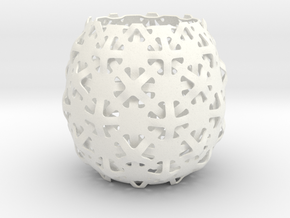 mediterranea | lampshade in White Strong & Flexible Polished