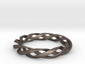 Toroid Spiral (3-strand, 1-piece, 1.2mm thickness) in Stainless Steel