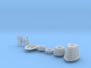 Dalek Special Sprue 016c in Frosted Ultra Detail