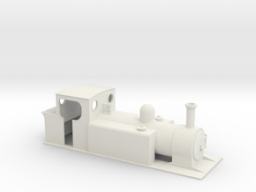 5.5n3 freelance Large tank loco in White Strong & Flexible