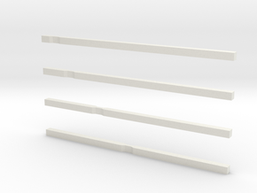 notched bars in White Strong & Flexible