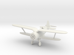 1/144 Polikarpov I-153 in White Strong & Flexible