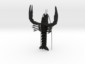 Articulated Crayfish in Black Strong & Flexible