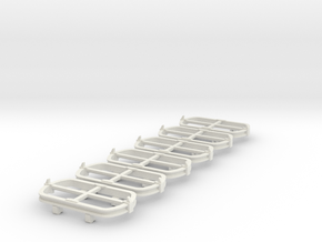 O9 Skip chassis  in White Strong & Flexible