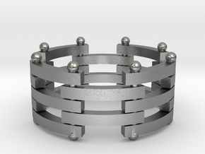 segmented ring 2 for s g in Raw Silver