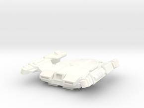24th Century Shuttle Type H-3 in White Strong & Flexible Polished