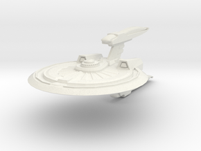 Wildcat Class Destroyer in White Strong & Flexible