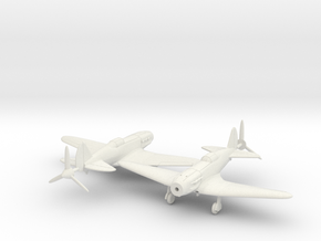 1/144 Soviet MiG 3 x2 in White Strong & Flexible