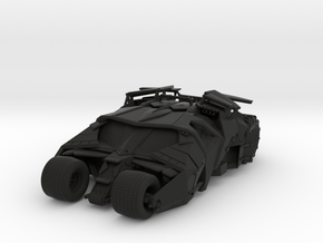 Batman - Tumbler Car [80mm & Solid] in Black Strong & Flexible