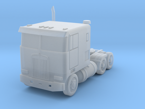 Kenworth Cabover Semi Truck - Zscale in Frosted Ultra Detail