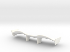 V1 Racer Wing 2.9 in White Strong & Flexible Polished