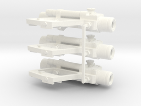 1:6 scale Russian PKS-07 Optic SIght Side Mounted  in White Strong & Flexible Polished