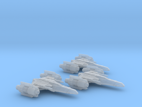 Corvan T-7 Strikefighter Wing 1/270 in Frosted Ultra Detail