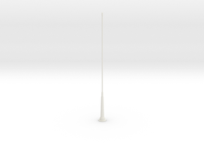 Tail Antenna 2 in White Strong & Flexible