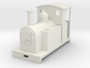 1:32/1:35 side tank loco open backed cab in White Strong & Flexible