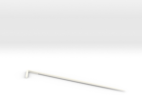 Triangle martini pick in White Strong & Flexible Polished