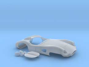1 32 Modified Aston Martin For Slot Car Use in Frosted Ultra Detail