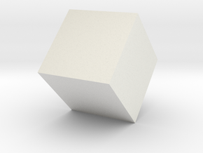 Square Cube in White Strong & Flexible