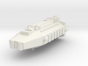 Earther Marine Assault Shuttle in White Strong & Flexible